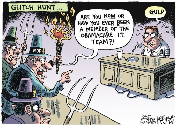 Rob Rogers Comic Strip for October 27, 2013