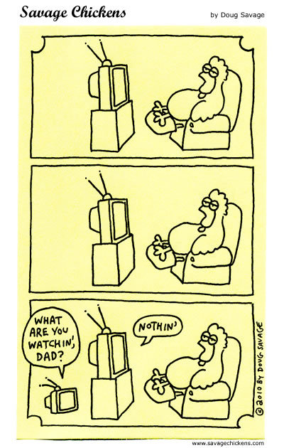 Savage Chickens Comic Strip for September 25, 2014