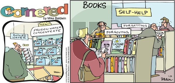 Cornered on Sunday January 29, 2012 Comic Strip