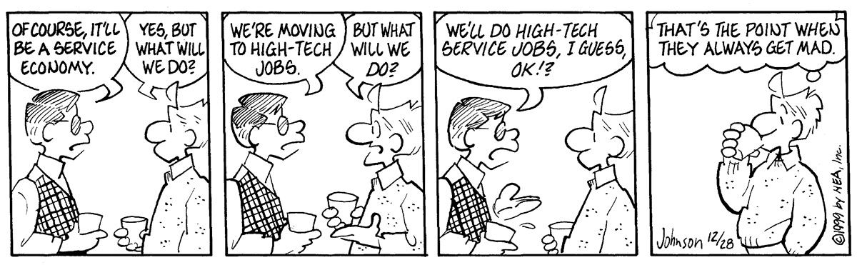 Arlo and Janis Comic Strip for December 28, 1999