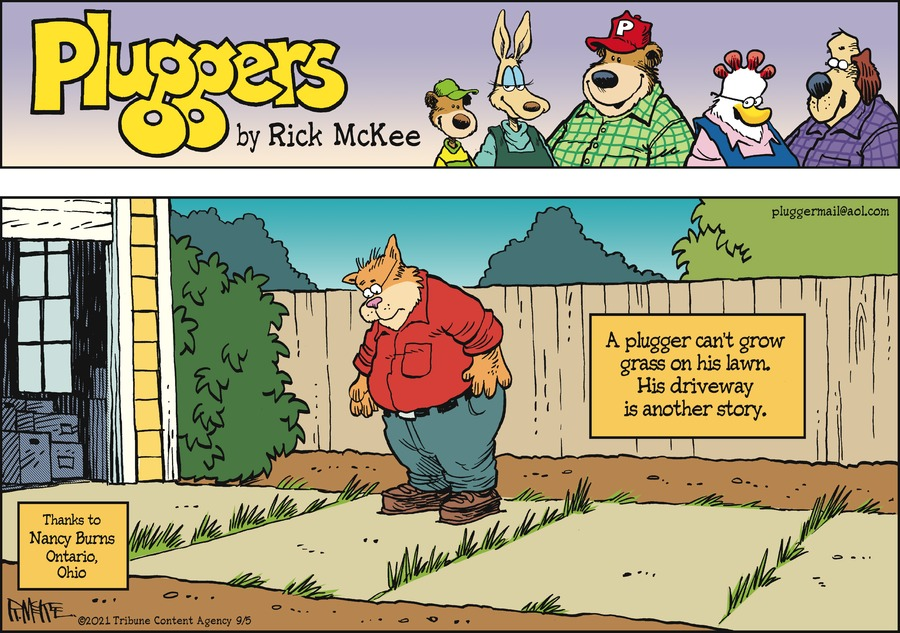 Pluggers Comic Strip for September 05, 2021