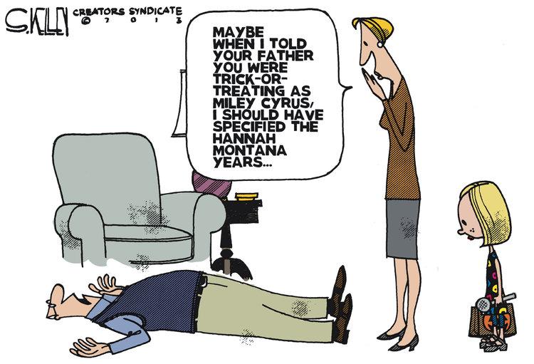 Steve Kelley Comic Strip for October 22, 2013