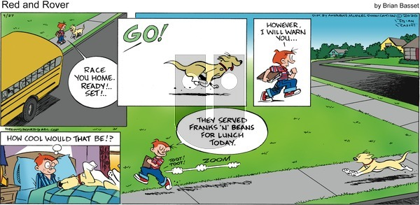 Red and Rover on Sunday September 27, 2020 Comic Strip
