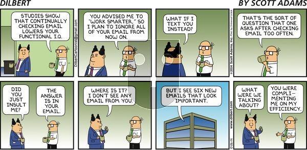 Dilbert - Sunday October 26, 2014 Comic Strip
