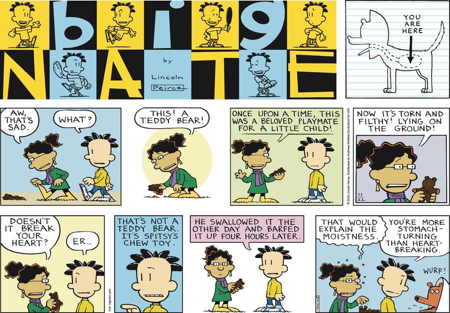 Big Nate Comic Strip for November 22, 2020