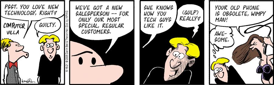 Rudy Park Comic Strip for June 16, 2021