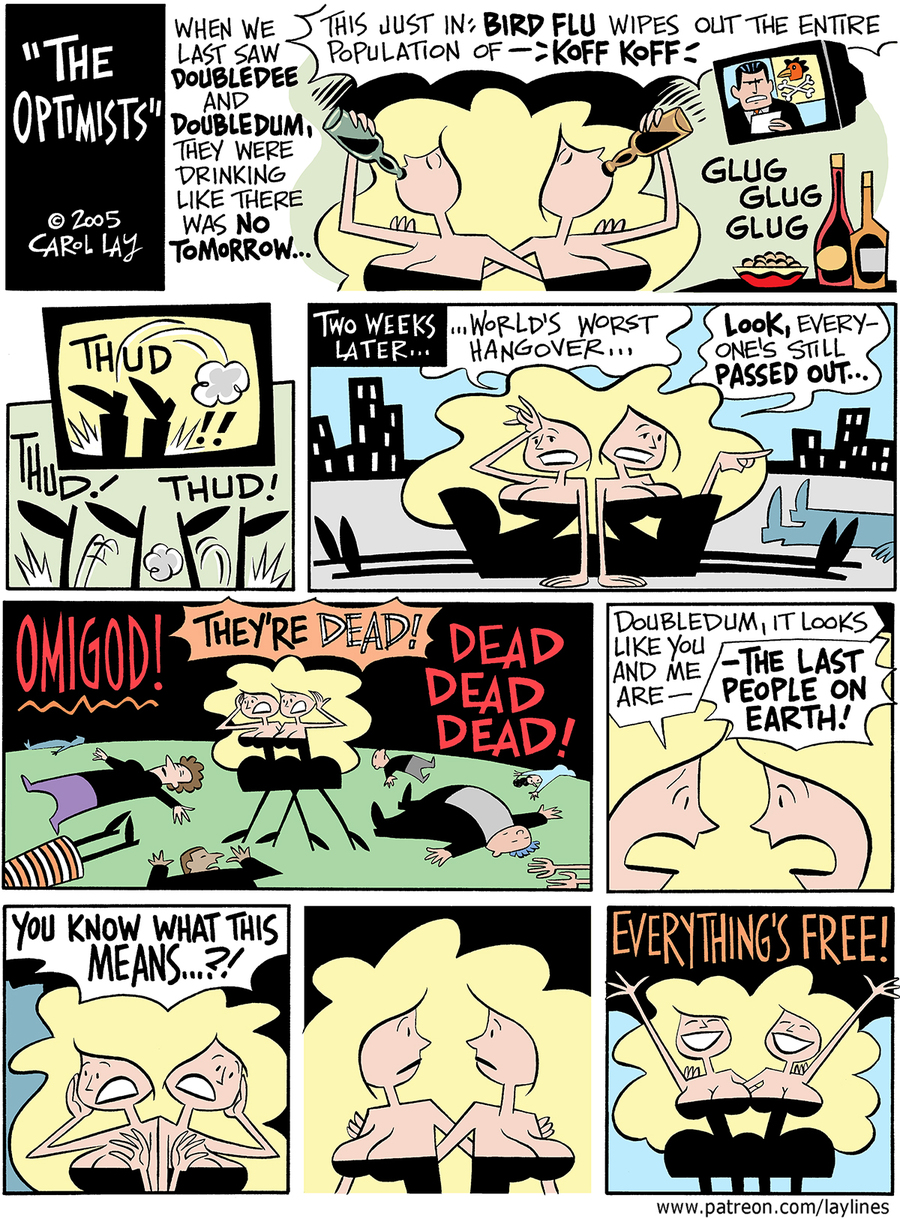 Lay Lines Comic Strip for September 15, 2017