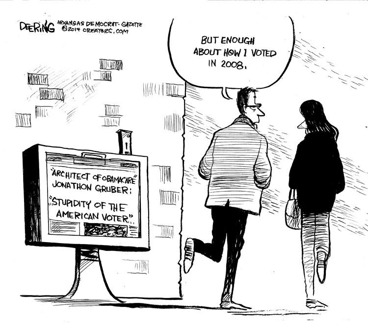 John Deering Comic Strip for November 16, 2014