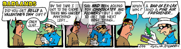 Badlands on Saturday February 13, 2021 Comic Strip