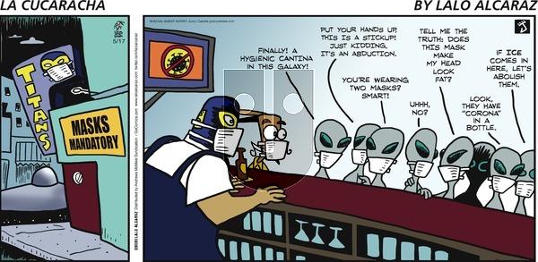 La Cucaracha - Sunday May 17, 2020 Comic Strip