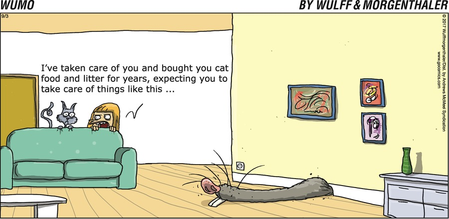 WuMo for Sep 3, 2017 Comic Strip