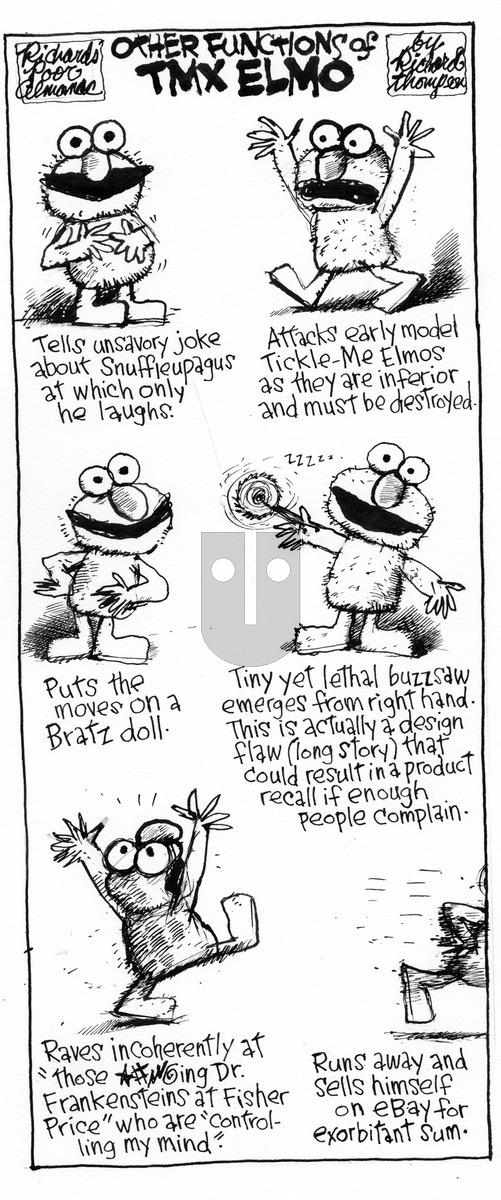 Richard's Poor Almanac on Sunday March 8, 2015 Comic Strip