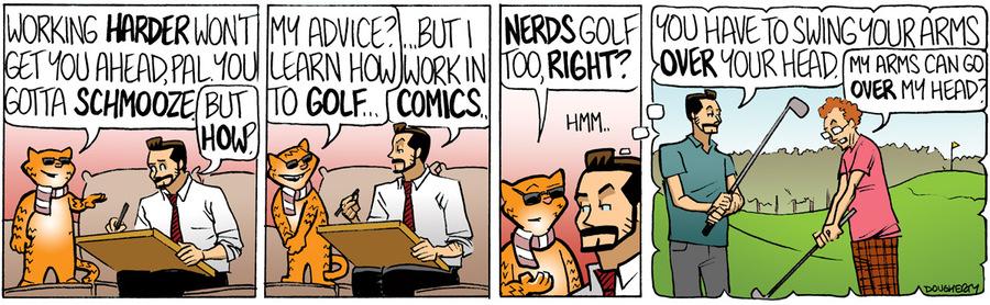 Beardo for Nov 16, 2012 Comic Strip