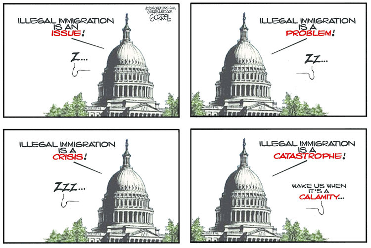 Bob Gorrell Comic Strip for May 15, 2019