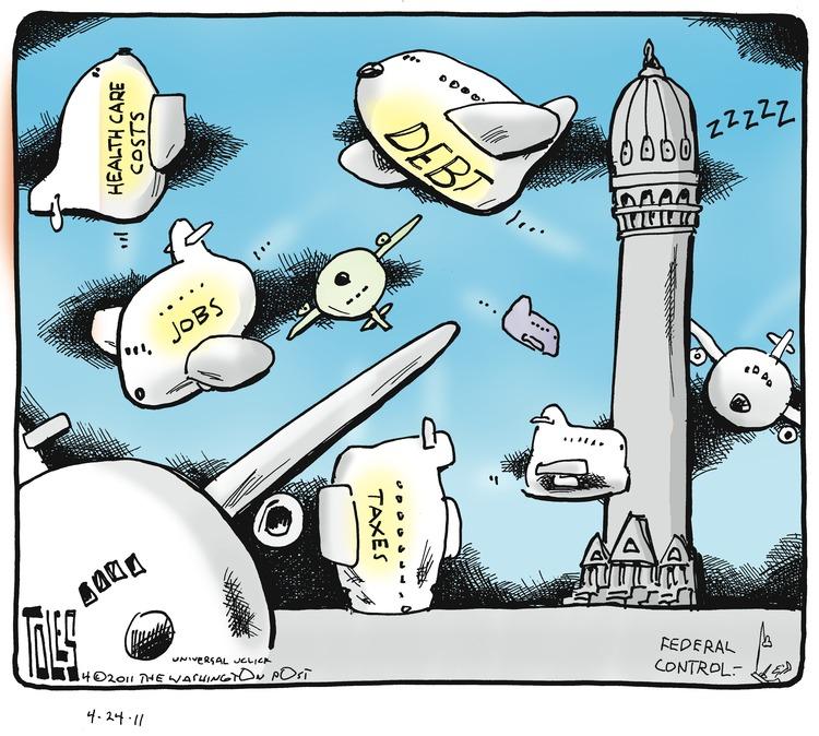 Tom Toles Comic Strip for April 24, 2011