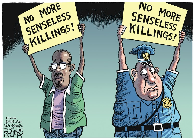 Rob Rogers Comic Strip for July 10, 2016