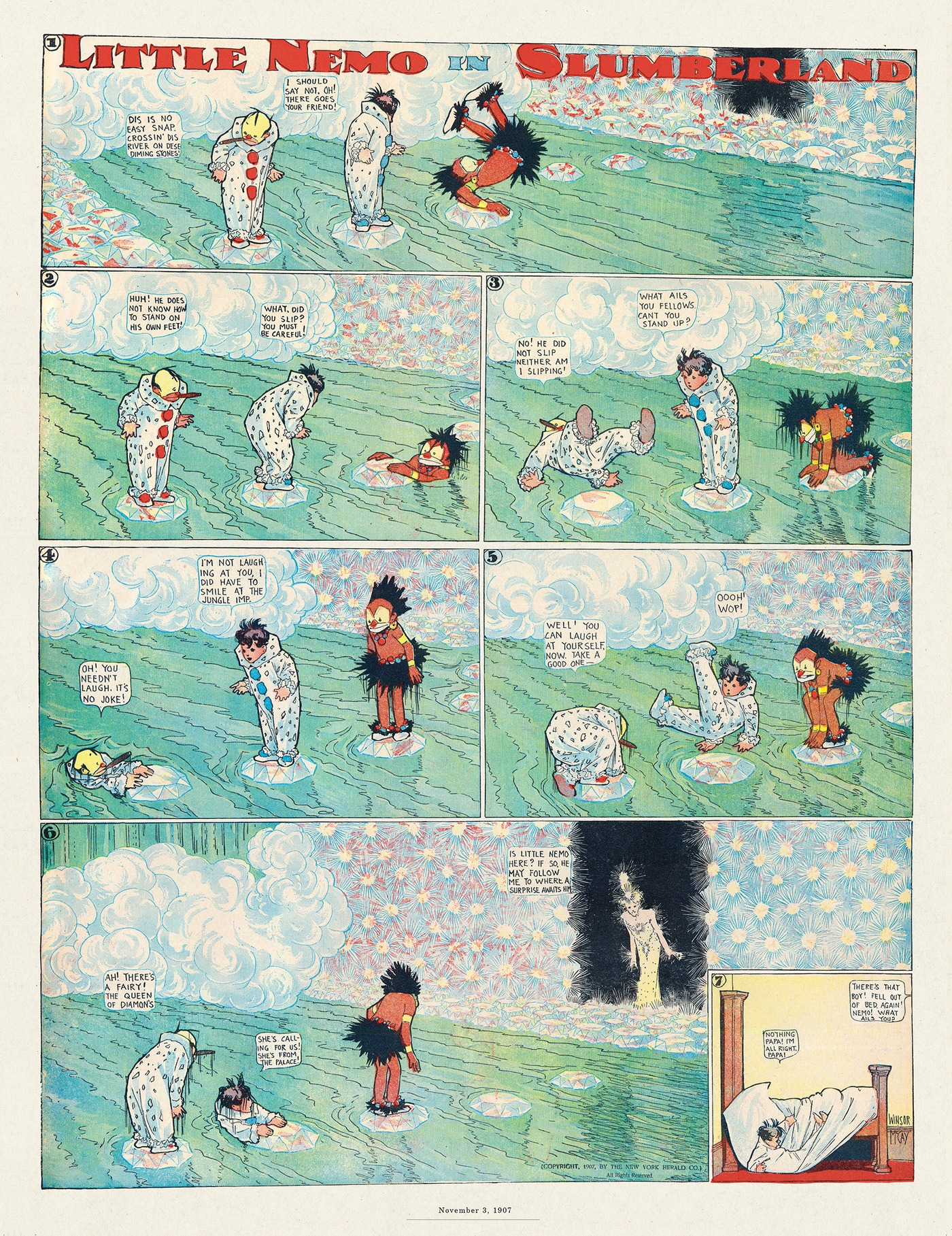 Little Nemo by Winsor McCay on Thu, 13 Aug 2020