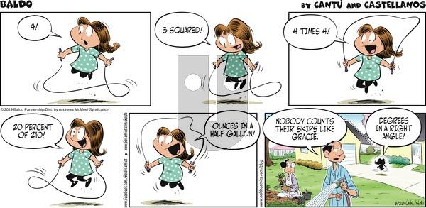 Baldo - Sunday May 26, 2019 Comic Strip