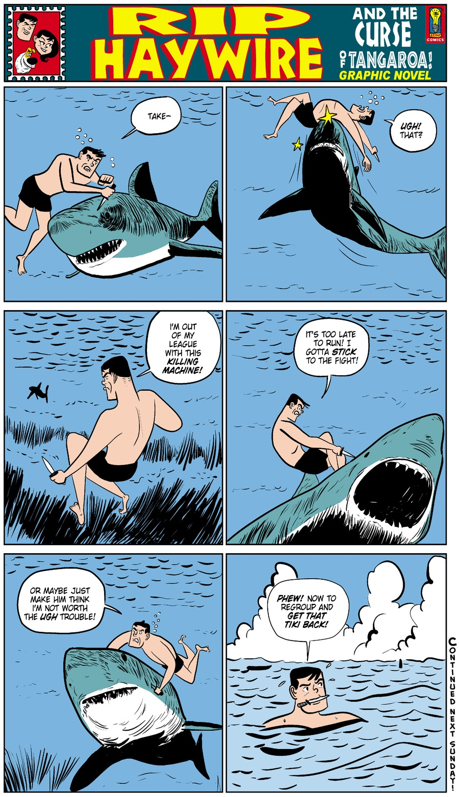 Rip Haywire Comic Strip for November 02, 2014