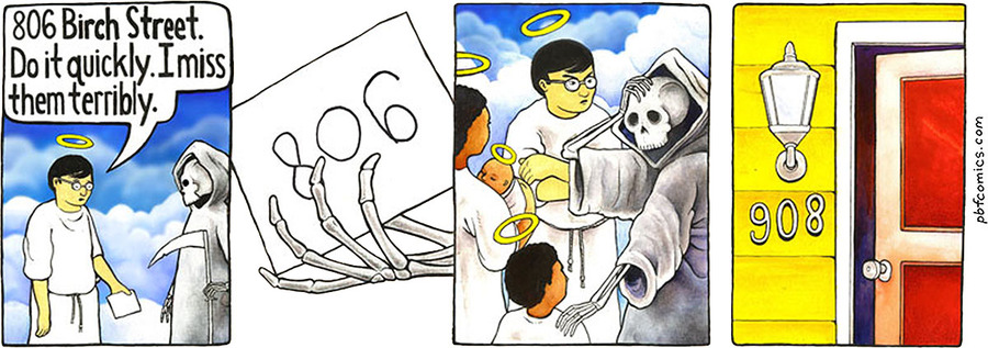Perry Bible Fellowship by Nicholas Gurewitch for March 07, 2019