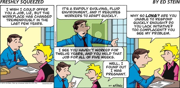 Freshly Squeezed - Sunday March 29, 2020 Comic Strip