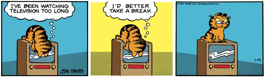 Garfield Classics by Jim Davis for January 20, 2019