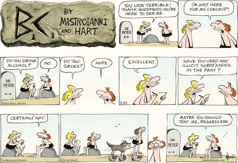 B.C. for Mar 23, 2014 Comic Strip
