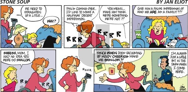 Stone Soup on Sunday March 1, 2015 Comic Strip
