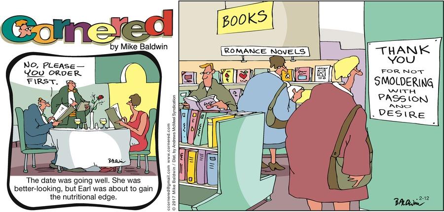 Cornered Comic Strip for February 12, 2017