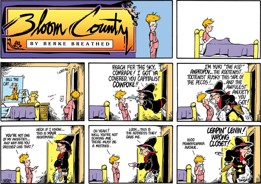 Bloom County Comic Strip for October 16, 2018