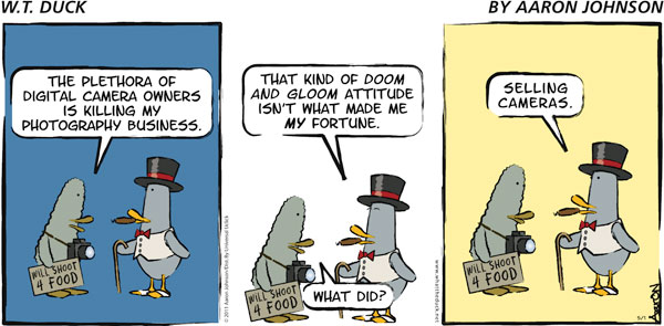 W.T. Duck Comic Strip for December 02, 2018