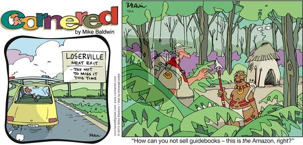 Cornered on Sunday October 4, 2015 Comic Strip
