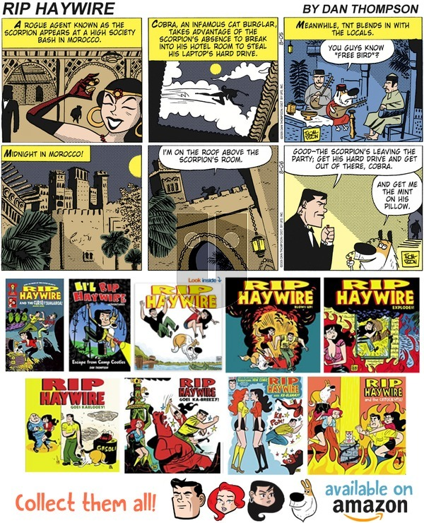 Rip Haywire on Sunday July 15, 2018 Comic Strip