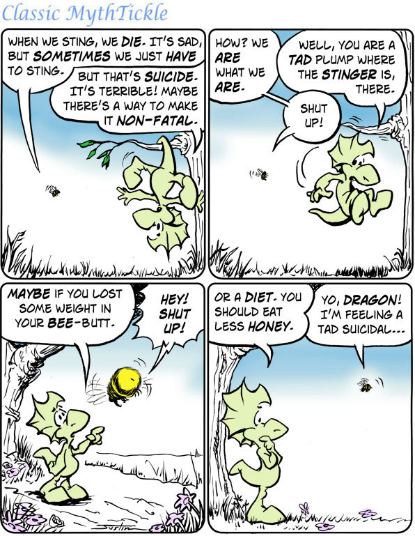 MythTickle Comic Strip for April 13, 2016