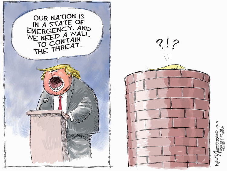 Nick Anderson Comic Strip for January 07, 2019