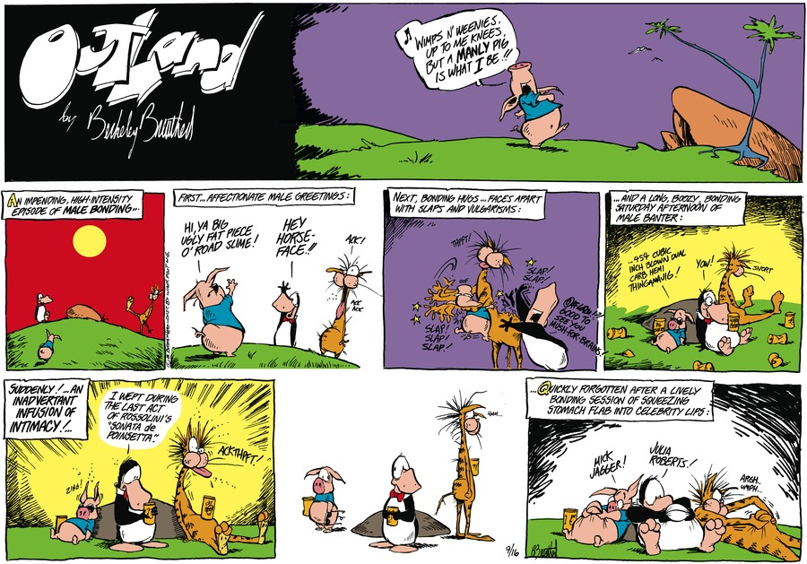 Outland Comic Strip for October 26, 2020