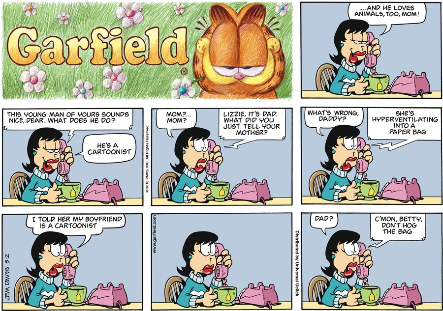 Garfield Comic Strip for May 02, 2010
