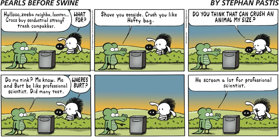 Pearls Before Swine Comic Strip for April 29, 2012