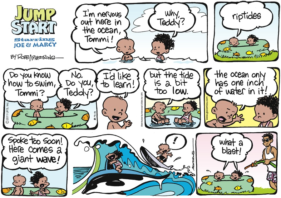 JumpStart Comic Strip for August 07, 2011