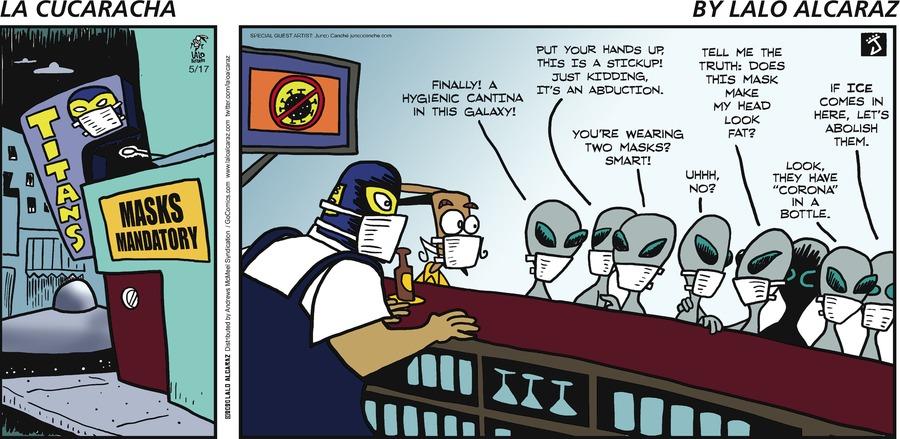 La Cucaracha Comic Strip for May 17, 2020