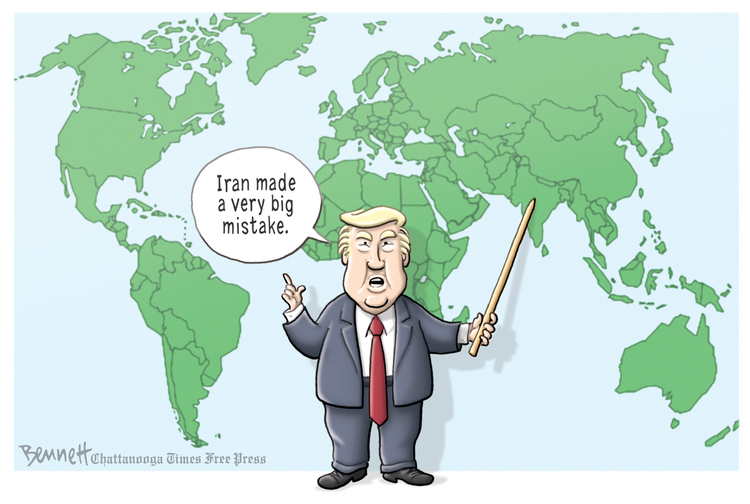 Clay Bennett Comic Strip for June 21, 2019