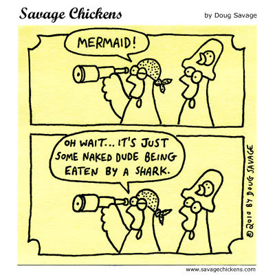 Savage Chickens Comic Strip for September 15, 2014