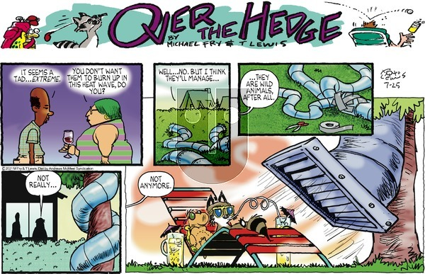 Over the Hedge on Sunday July 25, 2021 Comic Strip