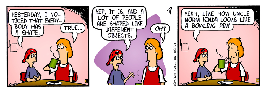 Just Say Uncle Comic Strip for March 24, 2020