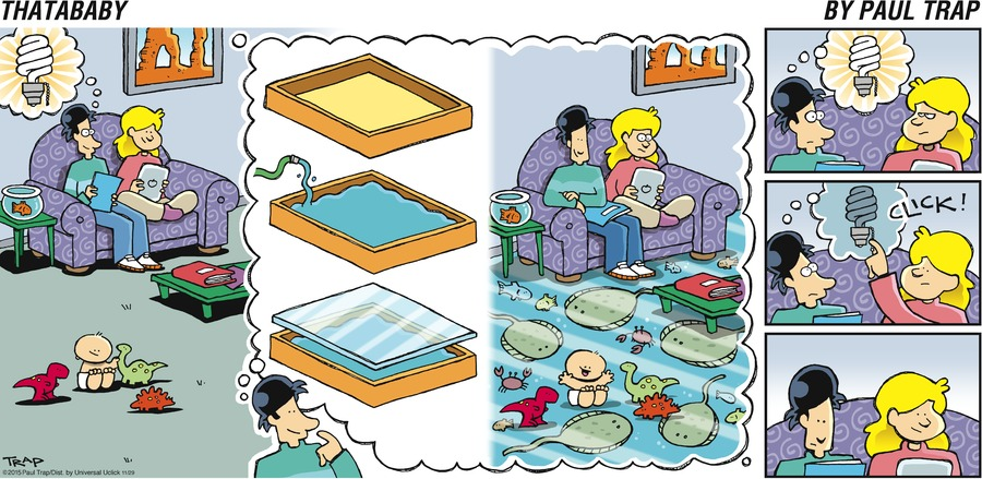 Thatababy Comic Strip for November 29, 2015