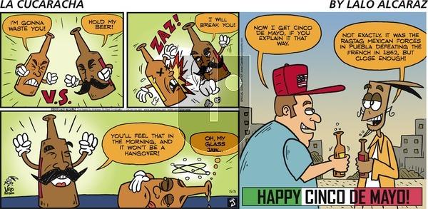 La Cucaracha on Sunday May 5, 2019 Comic Strip