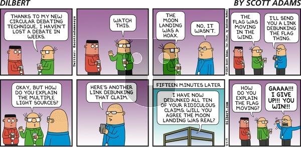 Dilbert - Sunday August 4, 2019 Comic Strip