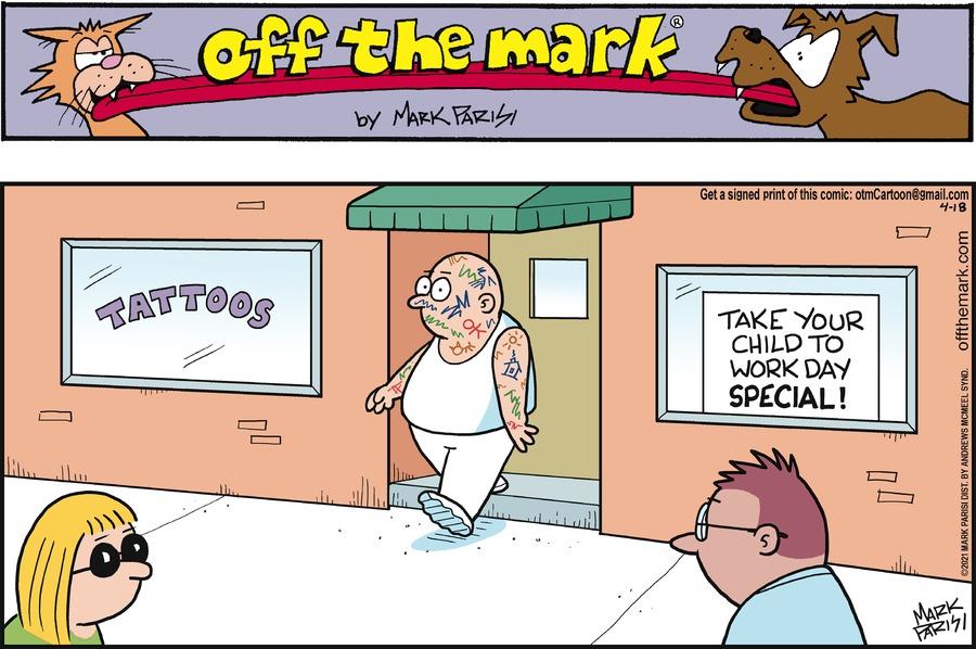 Off the Mark by Mark Parisi on Sun, 18 Apr 2021