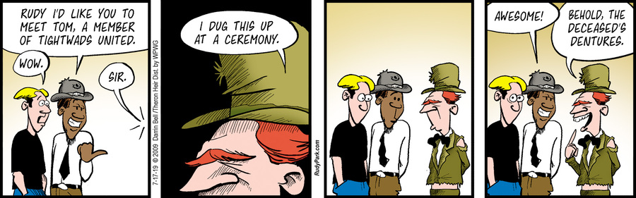 Rudy Park Comic Strip for July 17, 2019