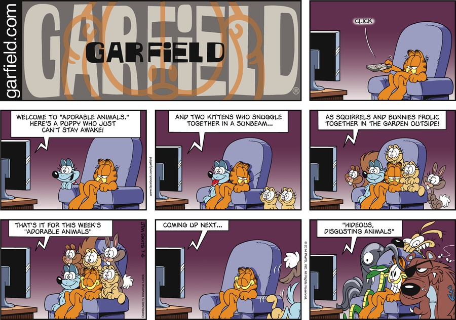 Garfield Comic Strip for July 06, 2014